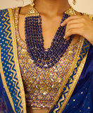 Royal Blue Lehenga Set.