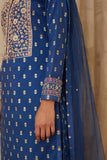 Royal Blue Kurta Set.
