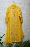 Yellow Kurta Set.
