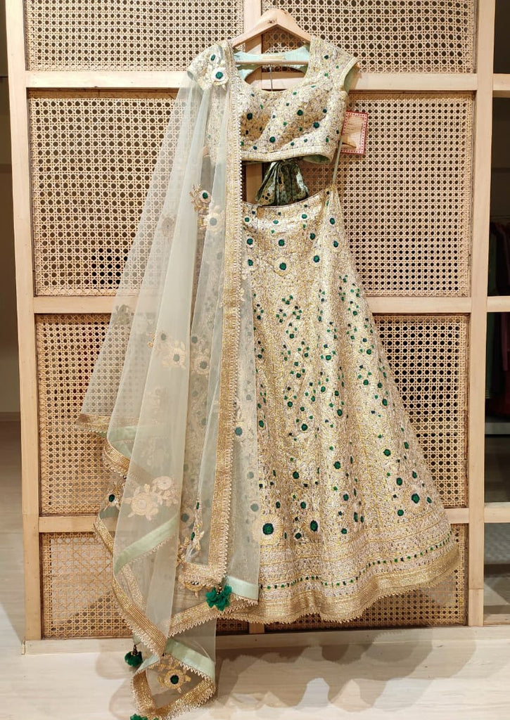 Light Green Lehenga Set.