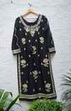 Black Kurta Set.