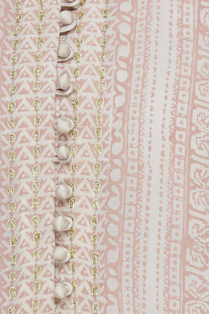Blush Pink Kurta Set.