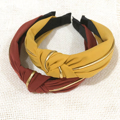 DANNIE-Sleek knot   band , 7 colours