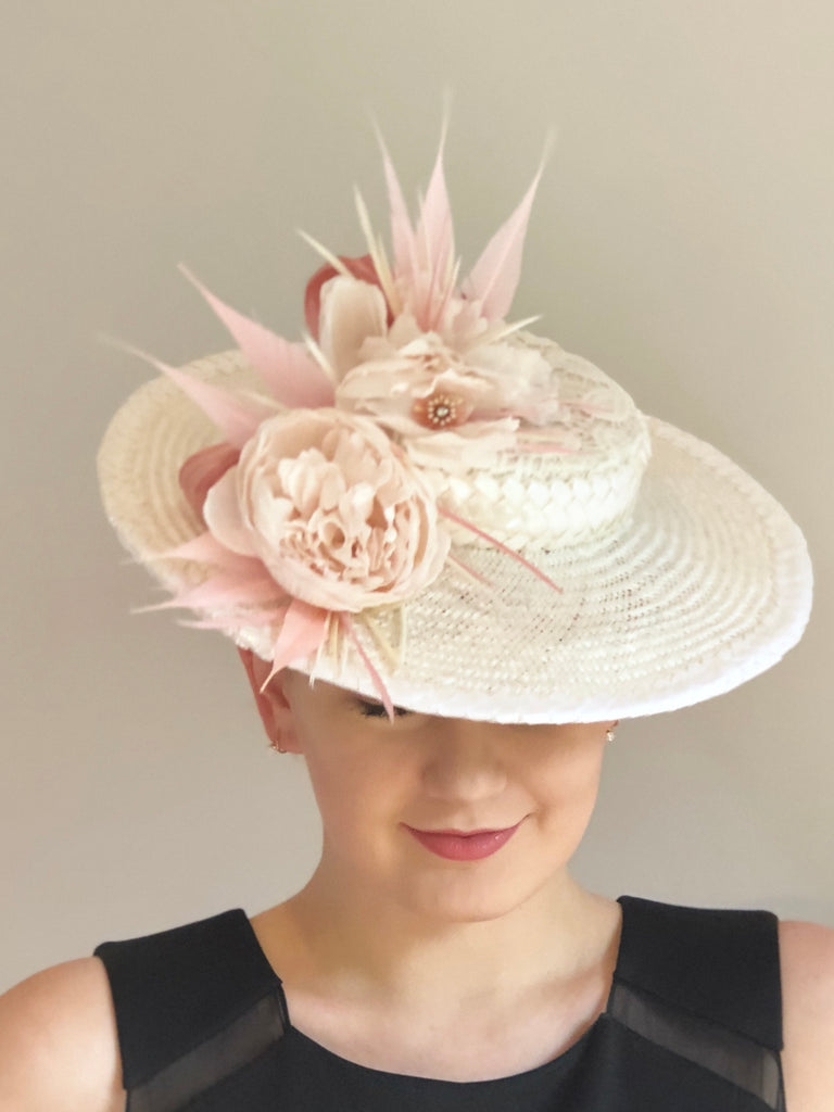 SIMONE  boater hat