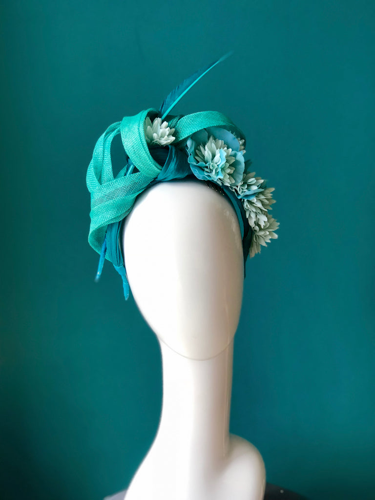 floral band -green SOLD