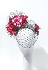 FLORAL GARDEN bandeau headpiece - different colours available