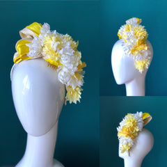 Zest floral headpiece
