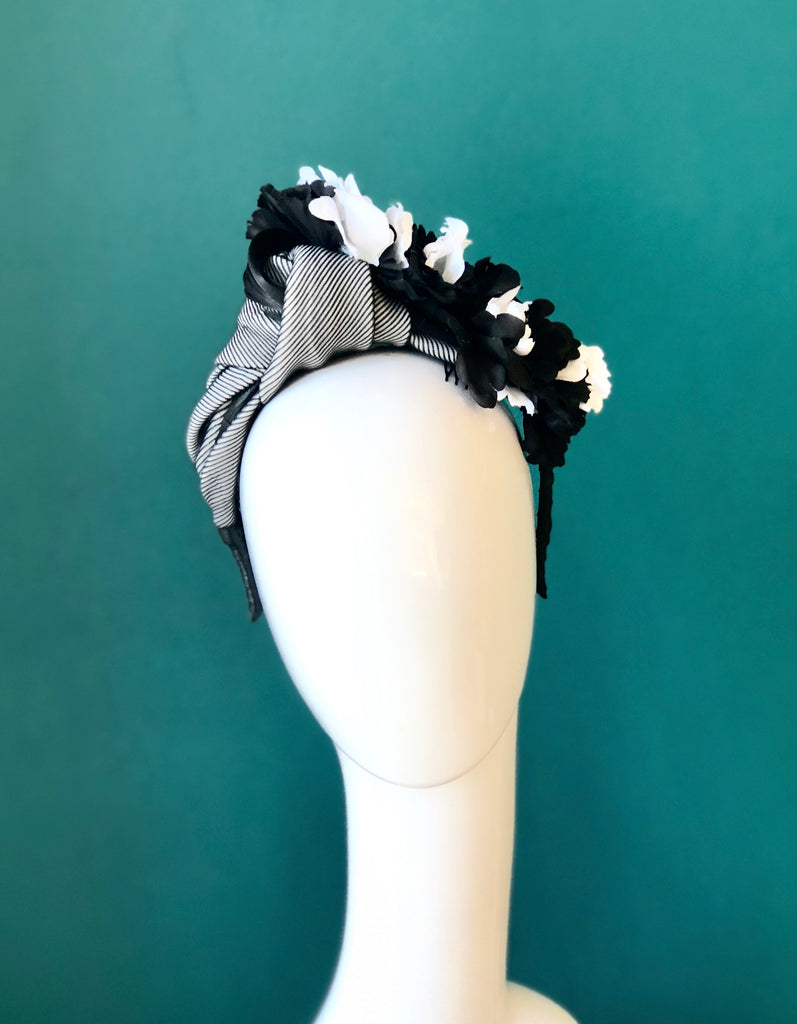 floral turban-SOLD OUT