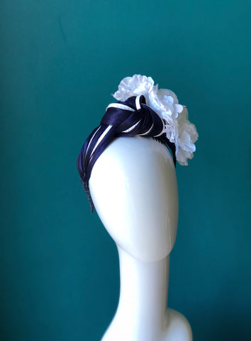 floral turban -CUSTOM FOR ANNIE