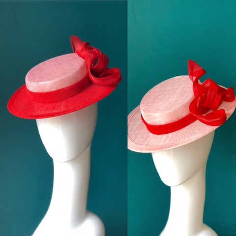 TWIST  boater hat
