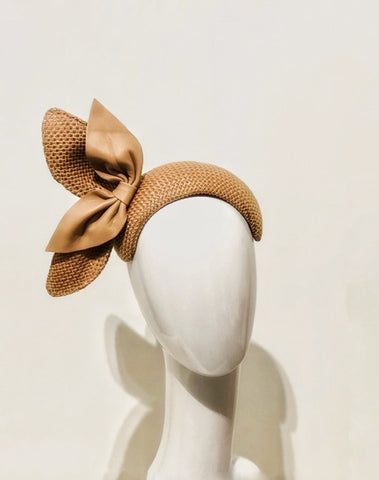 Double bow  bandeau headpiece
