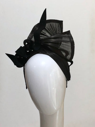 SILK TWIST headpiece