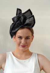 Origami  Mesh Sculptural headpiece