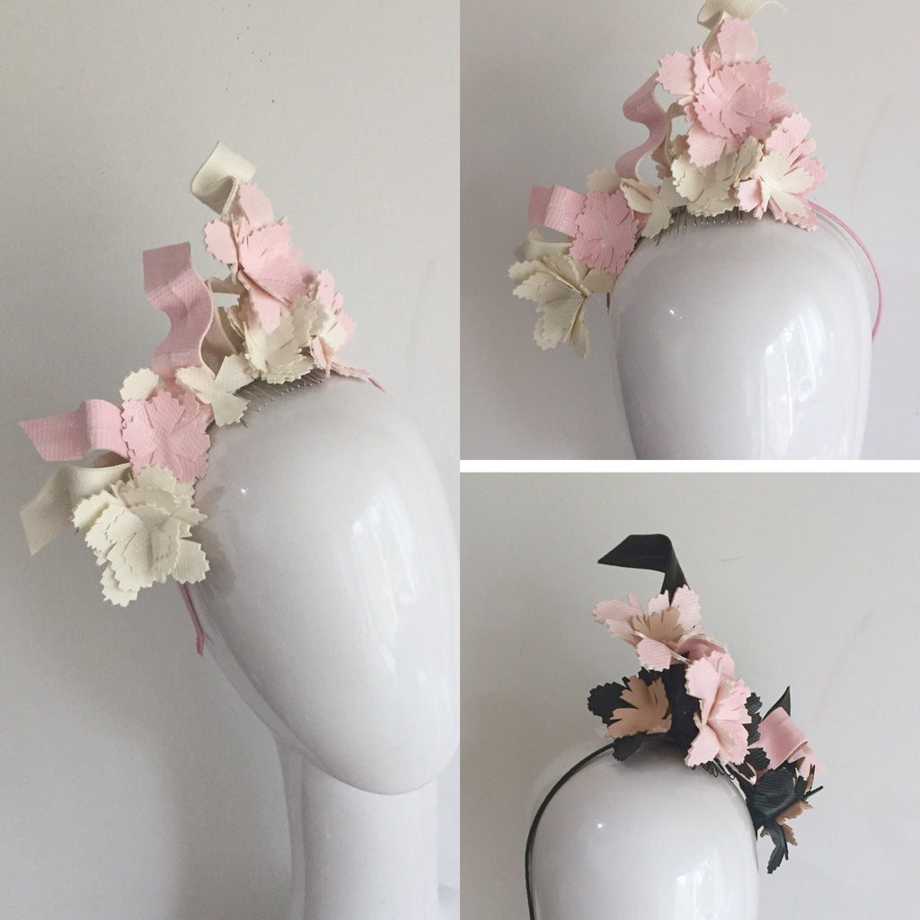 GEO BLOSSOM  floral headpiece