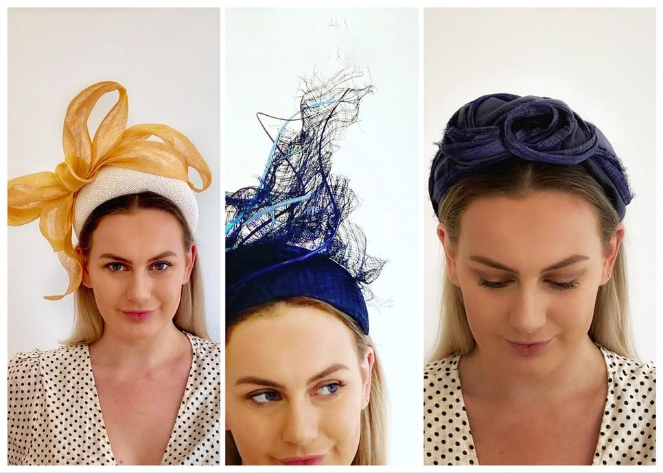 Sassy Millinery Headpieces , turbans and hats for the races