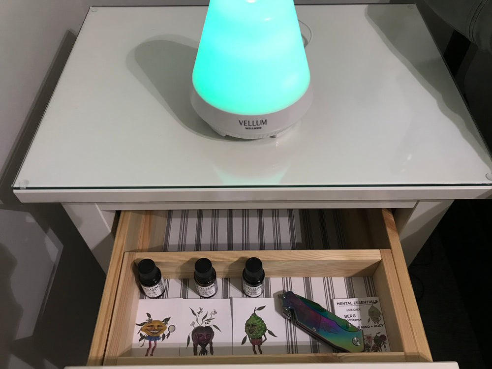 Mood Bluetooth Diffuser + Lemon Essential Oil