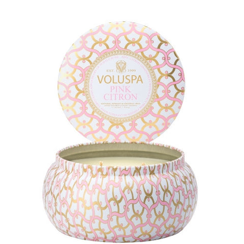 Voluspa 2 wick Candle Pink Citron