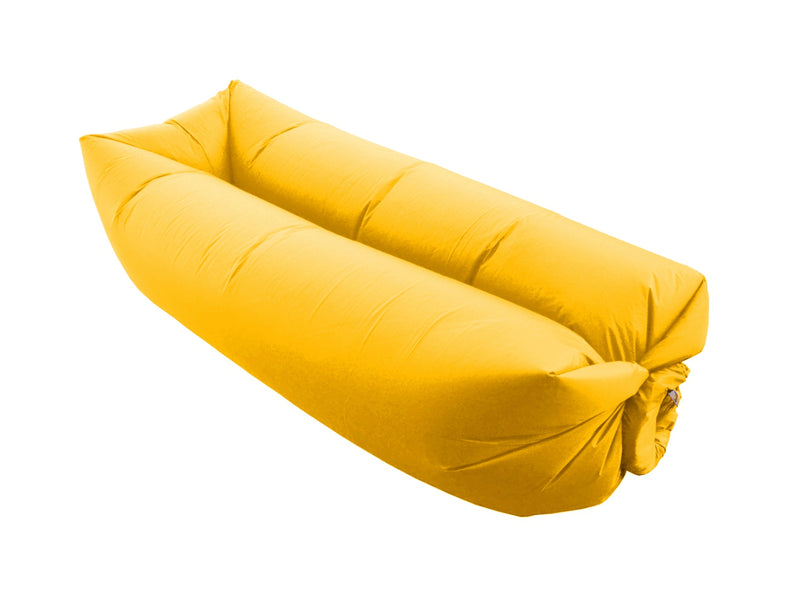 Air Sofa Gonflable Ultra Résistant Et Confortable - Jaune