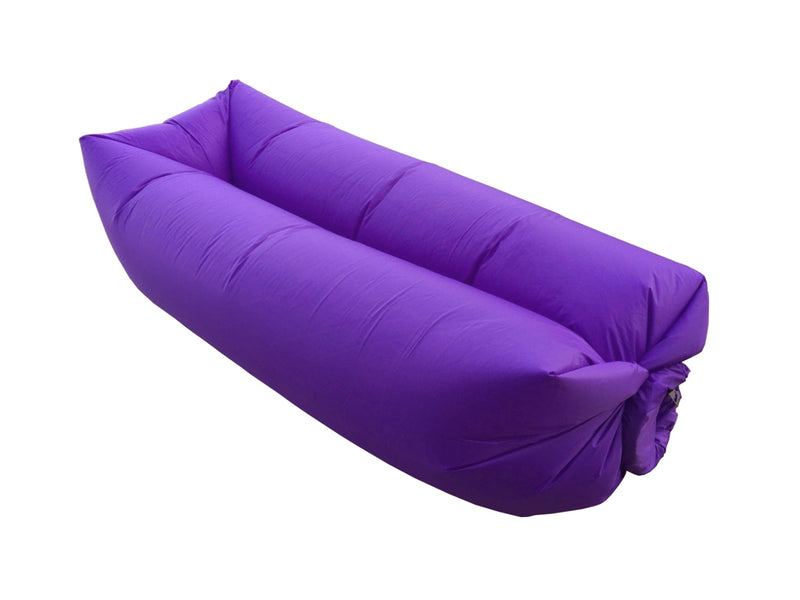 Air Sofa Gonflable Ultra Résistant Et Confortable - Violet