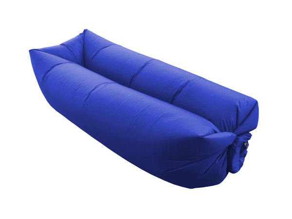 Air Sofa Gonflable Ultra Résistant Et Confortable - Bleu Marine