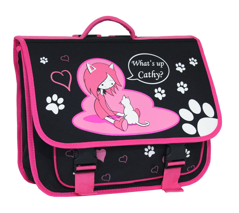 Cartable Scolaire Alistair - 38cm - Fille - What's Up Cathy