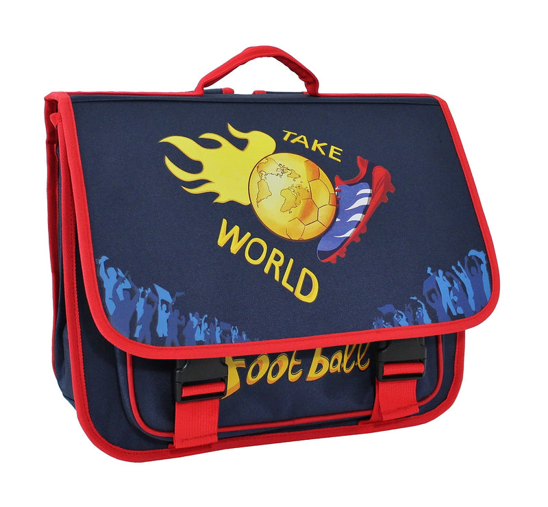 Cartable Scolaire Alistair - 38cm - Garçon -Take World