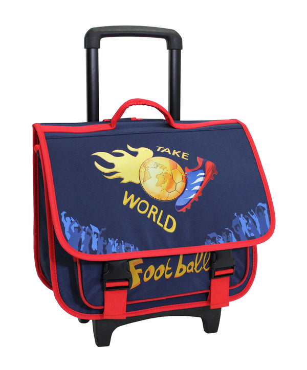 Alistair Cartable Trolley Scolaire Alistair - 39cm - Garçon - Take World