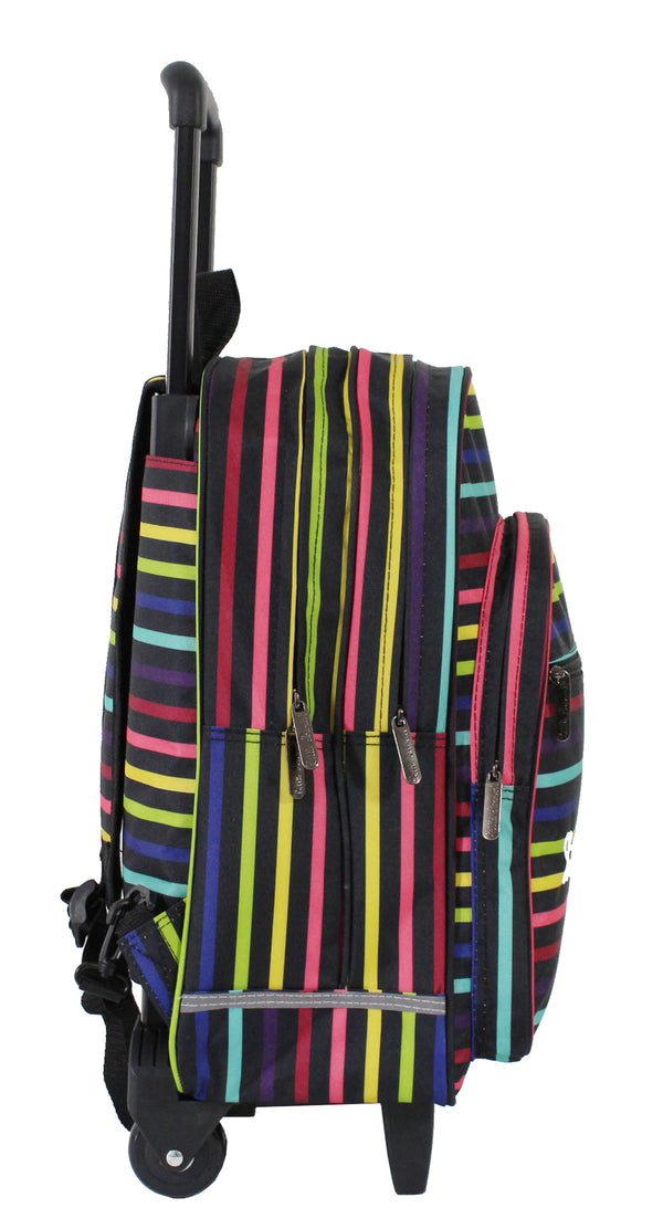 Little Marcel - Sac à Dos Trolley Scolaire 32cm – Rayures