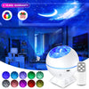 Galaxy Projector Star Projector Galaxy Light Projector Wave Projector Night Light with 40 Colors Galaxy Cove Projector Galaxy Light Projector for Bedroom Ceiling Car Home Adults Baby Kids Girl Gift