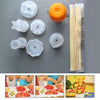 A1 Creative Plastic Fruit Shape Cutter Slicer Veggie Food Decoration
