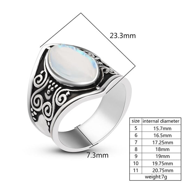 Handmade Moonstone Ring(Optimal Order Quantity:5)