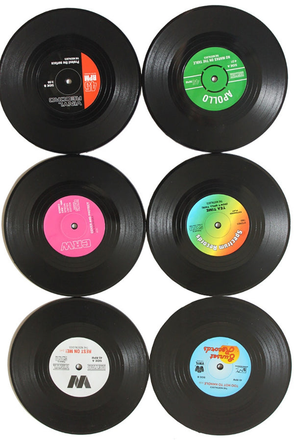 Vinyl Record Table Mats Drink Coaster