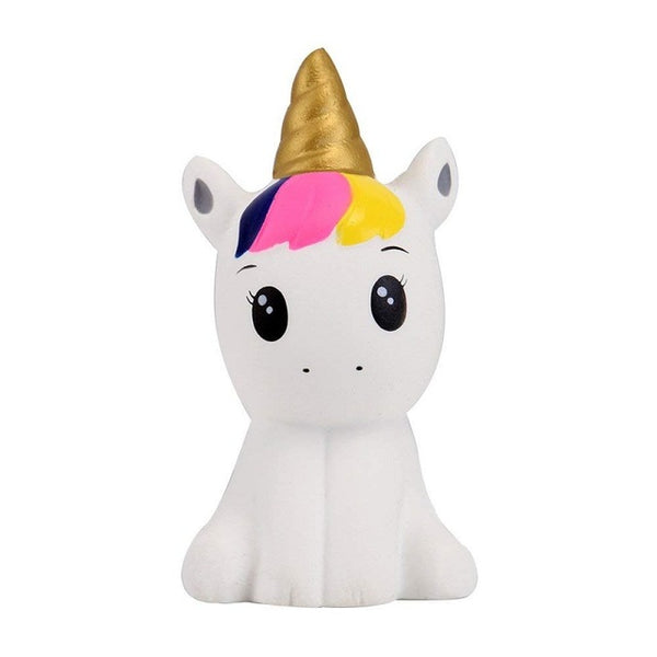 Colorful Galaxy Unicorn Squishy Doll