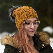 Load image into Gallery viewer, Crochet Pattern: The Warbler Beanie