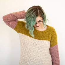 Load image into Gallery viewer, Crochet Pattern: The Spoonbill Sweater