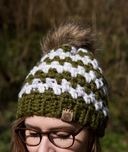 Load image into Gallery viewer, Crochet Pattern: The Pheasant Beanie