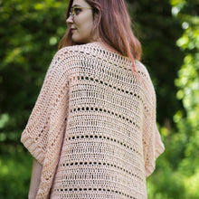 Load image into Gallery viewer, Crochet Pattern: The Rosefinch Cardigan
