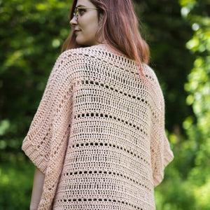 Crochet Pattern: The Rosefinch Cardigan