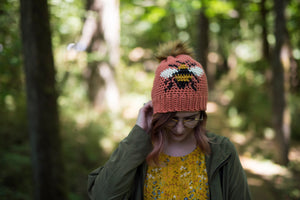 Crochet Pattern: The Bee Beanie