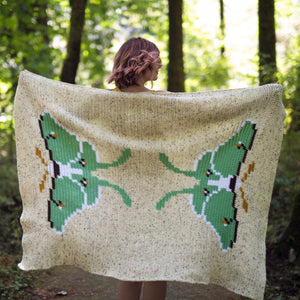 Crochet Pattern: The Luna Blanket
