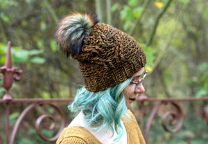Crochet Pattern: The Bird Tracks Beanie