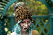Load image into Gallery viewer, Crochet Pattern: The Bird Tracks Beanie