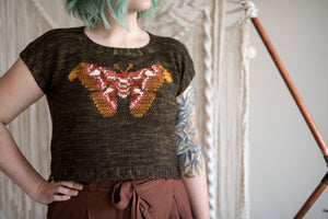 Crochet Pattern: The Atlas Crop