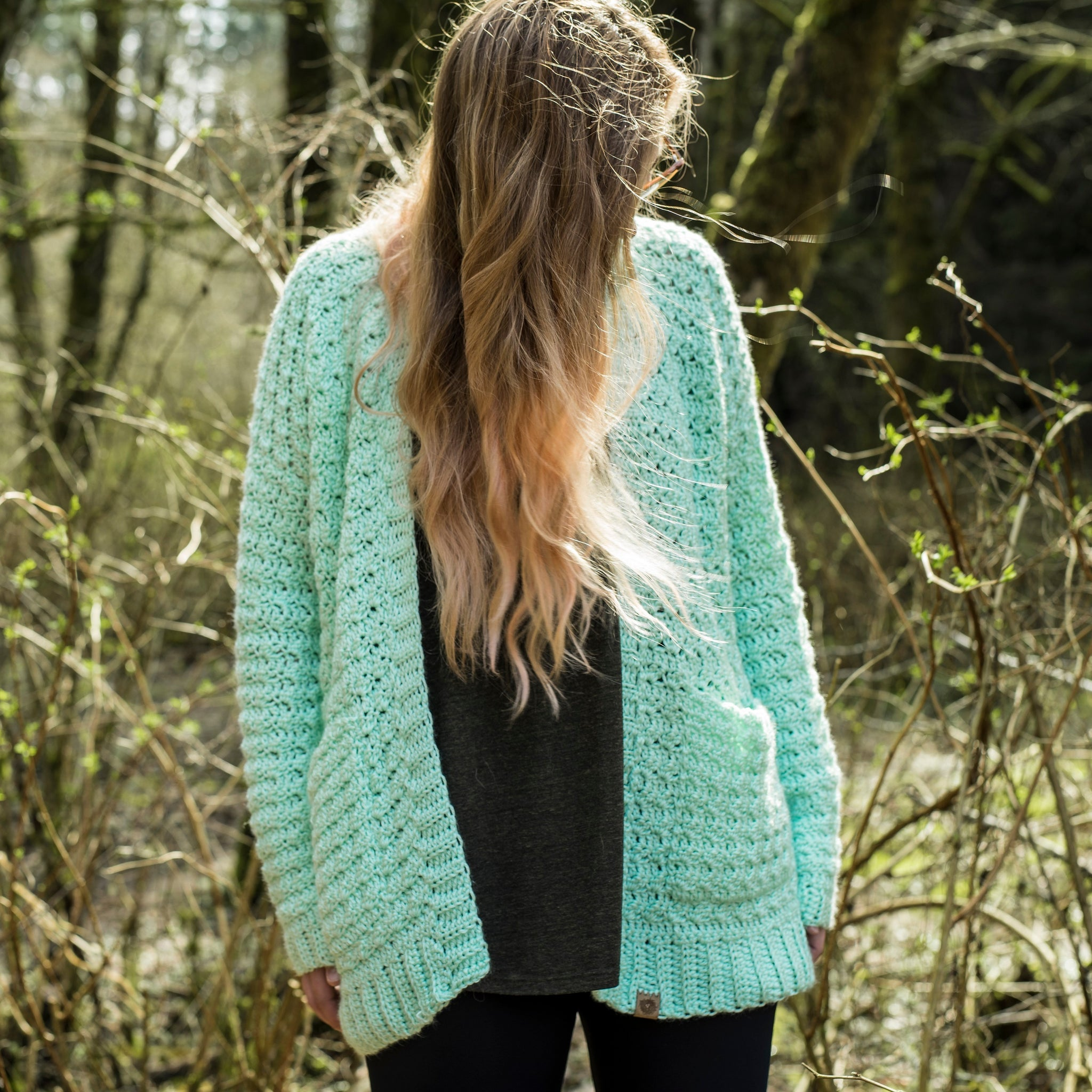 Crochet Pattern: The Starling Cardigan