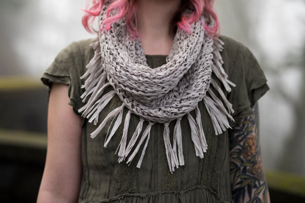 Crochet Pattern: The Mockingbird Infinity Scarf
