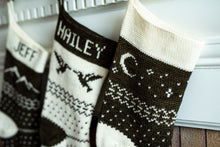 Load image into Gallery viewer, Crochet Pattern: The Forest Fair Isle Stocking