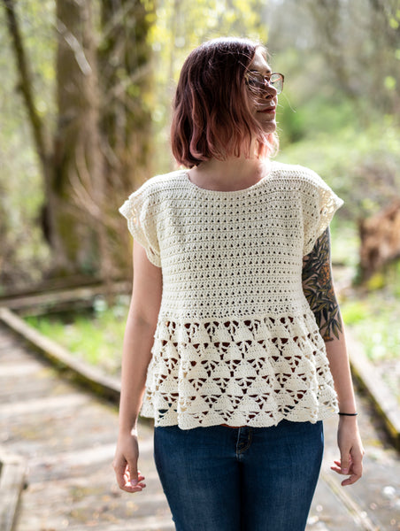 Crochet Pattern: The Tern Tunic Dress