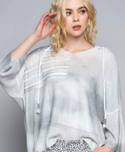 Patriotic Light Airy Sweater