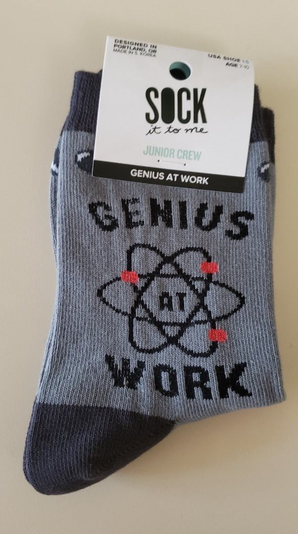 Children's Genius Crew Socks