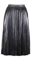 Laurel Shimmer Pleated Skirt